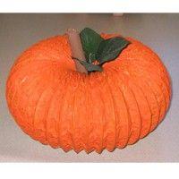 Artificial Pumpkin Centerpiece Craft - dryer vent tube