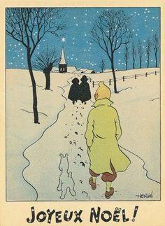 Tintin and Milou, Merry Christmas