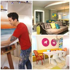 David Bromstad Color Splash Throwback! Discuss. #hgtvstar