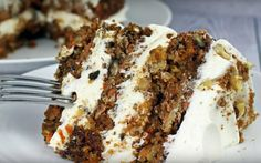<p>This triple decker carrot cake is super-moist and loaded with carrots, plus the addition of tart Granny Smith apples for more moisture and flavor. </p>