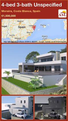 4-bed 3-bath Unspecified in Moraira, Costa Blanca, Spain ►€1,500,000 #PropertyForSaleInSpain