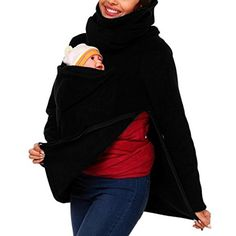 Christmas Gift, Egmy Practical 1PC Baby Carrier Jacket Kangaroo Winter Maternity Outerwear Coat Pregnant (XL)