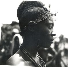 ukpuru:  Young Igbo man shot by J Stocker, early 20th century.
