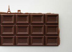 Paris Chocolate by Makoto Hashikura via jpdesign.org #Chocolate #Paris #Makoto_Hashikura