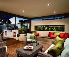 Alfresco Sample Colours, Deck, Built-IN BBQ, Furniture/Furnishings, Planter, Rendered Wall; - Sustainable Outdoor Concepts, Landscaping, Patterson Lakes, VIC, 3197 - TrueLocal