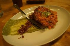 Shortribs Tartare at Pubbelly
