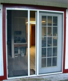 Add value to your French doors with the supremely stylish screen doors from Plisse at  https://www.plissescreen.com/products/plisse-door-screens/retractable-screens-for-french-doors/