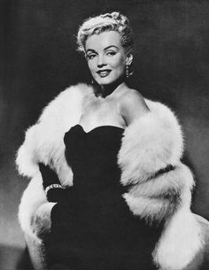 Marilyn Monroe in a publicity shot for All About Eve, 1950