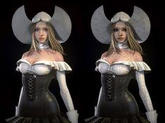 BlueHole Studio's Project EXA 3D Character Render Images | Steparu.com