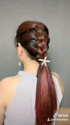 Indian Hairstyles, Up Hairstyles, Hairstyle Ideas, Hair Up Styles, Hair Style, Bun Hair, Ponytail, Dulhan Mehndi Designs, Wig Store