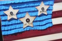 #4thofJuly Stars and Stripes wood crafting
