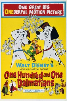 TBT: See All 53 Walt Disney Animation Movie Posters. Dalmatians 100 & 1