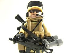 Lego Custom Marine Navy Delta Trooper Army Soldier Military Desert Seal 12 | eBay