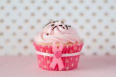 Sprinkles on a cupcake: Think Pink!!