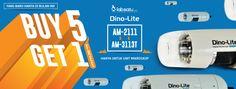 Hari TERAKHIR..!! HOT PROMO Buy 5, Get ONE FREE..!!  Untuk Digital-Microscope Dino-Lite jenis: - AM-2111 atau - AM-3113T  #hotpromo #promo #microscope #laboratory #dinolite #buy5get1 =========== BUTUH alat Lab & Kesehatan?? Ke LabSatu aja! ^^d  Langsung kunjungi https://www.labsatu.com ya!