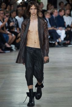 Visions of the Future: Rick Owens Spring 2016 Menswear Fashion Show