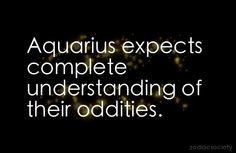 Aquarius expects...