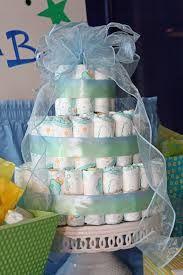 Torta de pañales. baby shower ideas originales - Buscar con Google