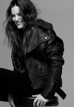 """Why is Liv Tyler's hair so gorgeous? """"I use a lot of conditioner—like, a whole handful—and I leave it on for a long time. It makes my hair really soft and fluffy."""""""