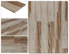 "Salerno Porcelain Tile - Rainforest Series Brown / 6""x24"""