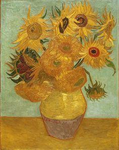 Винсент Ван Гог. Подсолнухи. 1889. 92.4 x 71.1 см -- . Музей искусств Филадельфии