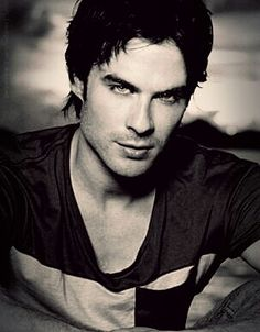 Ian Somerhalder - I don't watch The Vampire Diaries, but if I did, it would just be to watch him!