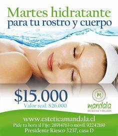 Martes de promoción hidratante para cuidar tu rostro y cuerpo.