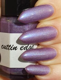 15 ml bottle of lilac lover by cuttingedgepolish on Etsy