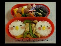 CHICKEN BENTO - YouTube