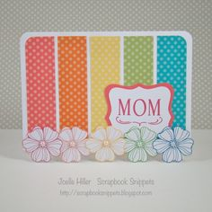 CTMH | Scrapbook Snippets: H2H - April Showers Bring May Flowers