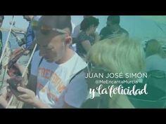 Juan Jose Simón y la felicidad en la Costa Cálida. Región de Murcia #ComunidadDeLaSonrisa - YouTube