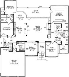 Stunning Openness - 9710AL | Architectural Designs - House Plans