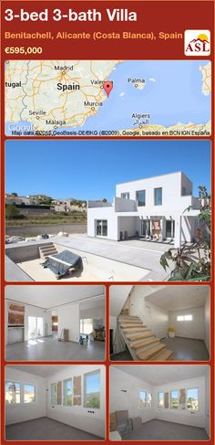 3-bed 3-bath Villa in Benitachell, Alicante (Costa Blanca), Spain ►€595,000 #PropertyForSaleInSpain