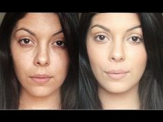 Flawless Face: How to cover dark circles, freckles and age spots. I like the finished product, look really natural. Health Guru, Health Trends, Beauty Care, Beauty Hacks, Beauty Tips, Beauty Products, Lush Products, Face Beauty, Beauty Secrets