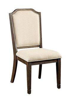 Furniture of America Camilla Camelback Dining Chair