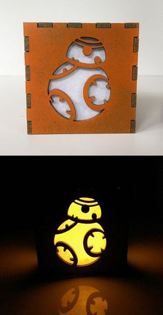 BB8 Light Box