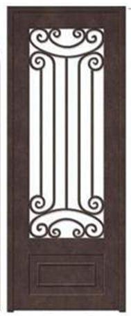 Porte, d'entrée, en, fer, forgé, porte, en, fer, porte, en, acier, design,