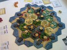 Settlers of Catan  - great site for cool board game hacks