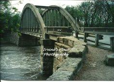 Bridge in Emporia KS.  Photo by Rachael Irvine, Irvine's Place Photography