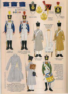 Fanteria di linea Regolamento 1812 (3)