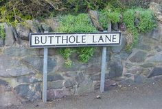 Residents of Butthole Lane would never rename the road