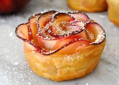 Video: Jednoduchý jablkový dezert v tvare ruže