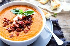 Roasted Tomato Soup — Naturally Nutritious