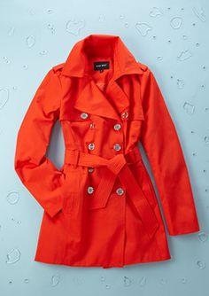 Everyone needs a stylish raincoat~ Tangerine Tango!