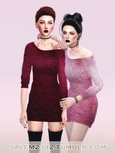 Sims 4 CC's - The Best: Dresses by Salem