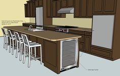 sketchup kitchen kitchen design cad sketchup interior design cad