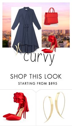 """Chic"" by everydaytalks on Polyvore featuring Christian Louboutin, Lana and Givenchy"
