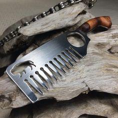 Wood Handle Cleaver Comb