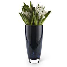 Thick Sham Vase in Dark Blue