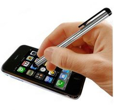#Free Touchscreen Metal Stylus Pen for iPad and iPhone